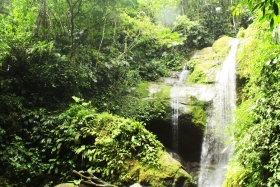 BriBri waterfall